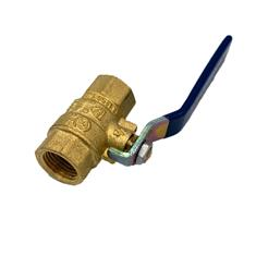"Brass 1/2"" Ball Valve"