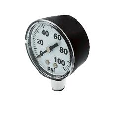 "Pressure Gauge 0-100 PSI with 2"" Face"