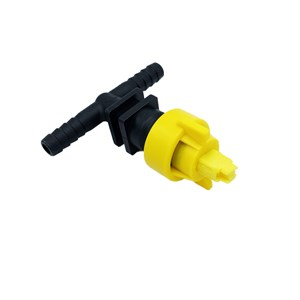 "Nozzle Tee 3/8"" AIXR-02 with Check Valve"