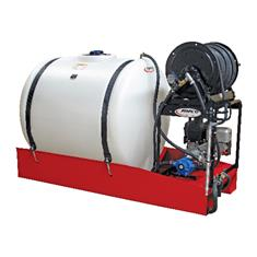FIMCO 200 Gallon Skid Sprayer Gas Powered Roller Pump