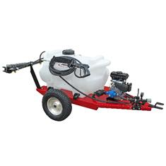 FIMCO 40 Gallon Trailer Sprayer Gas Powered 5 Nozzle