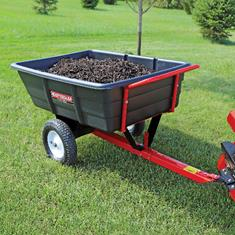 FIMCO 10 Cu Ft Trailer Cart Poly Bed