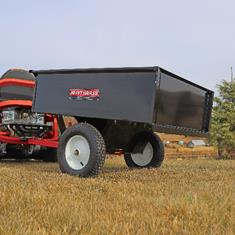 FIMCO 10 Cu Ft Trailer Cart Steel Bed
