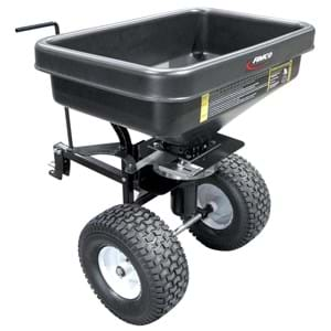 FIMCO Trailer Dry Material Spreader 2.2 Cu Ft 12V