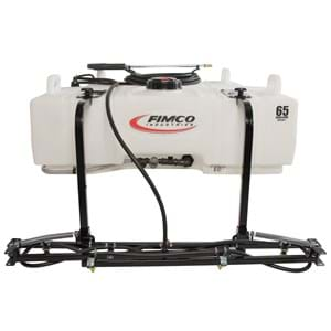 FIMCO 65 Gallon UTV Sprayer 4.5 GPM 7 Nozzle