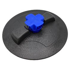 "8"" Tank Lid with Blue Snap-In Vent"